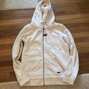 NWT lined hoodie from roxy size L